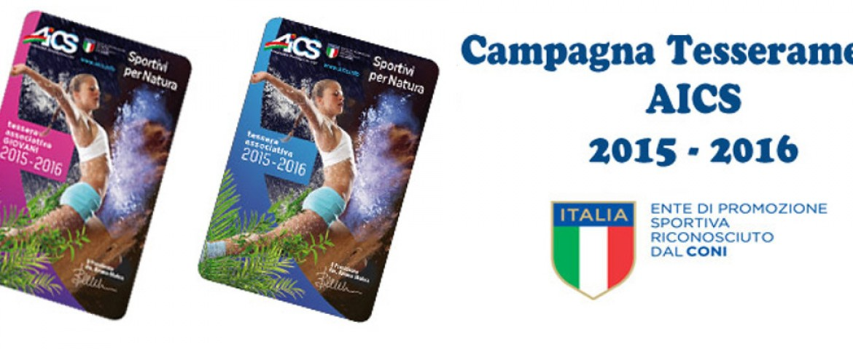 Campagna Tesseramento 2014 – 2015