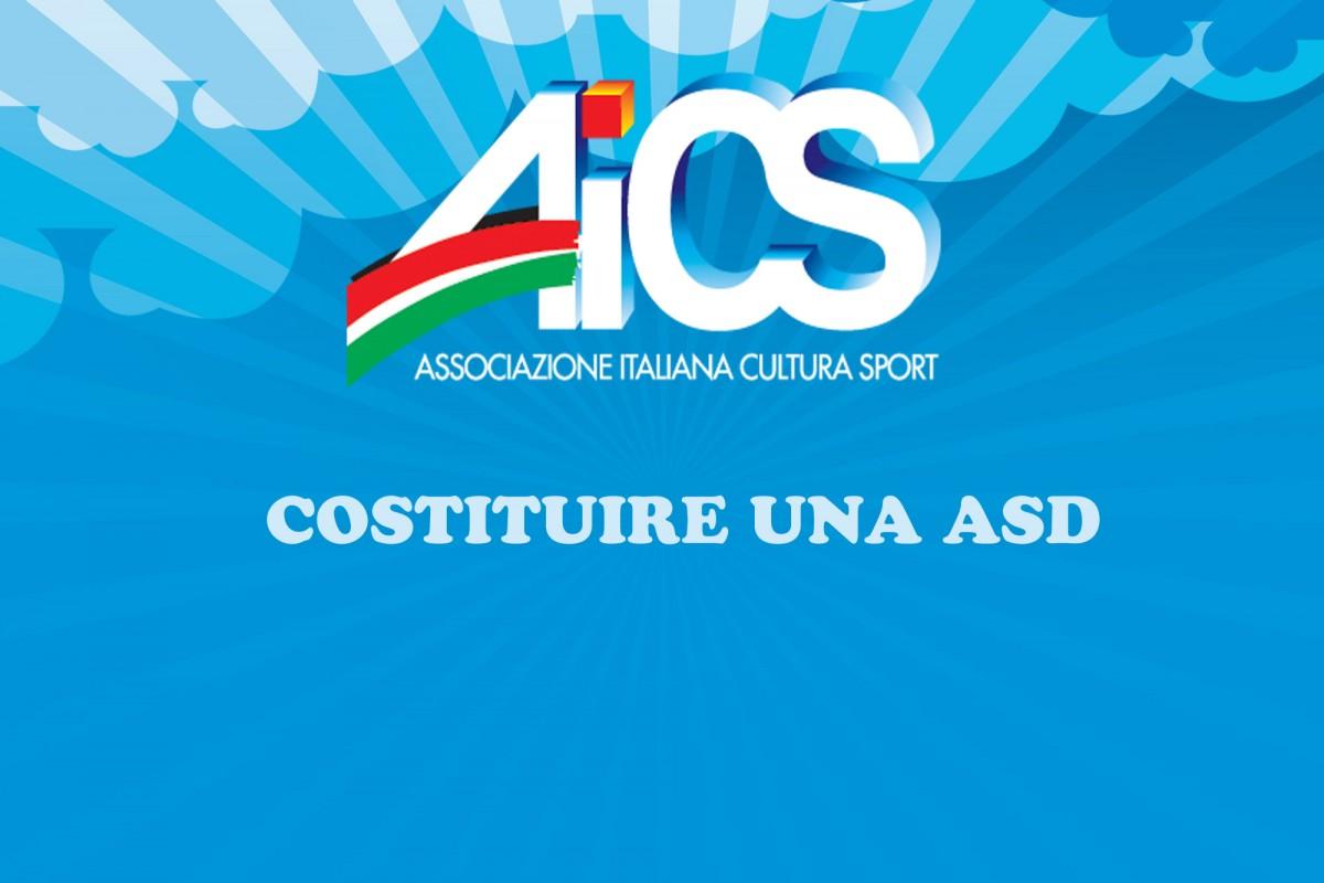 Costituire ASD