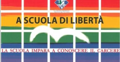 A SCUOLA DI LIBERTA': CAMPAGNA PROMOSSA DALLA CONFERENZA NAZIONALE VOLONTARIATO GIUSTIZIA