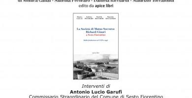 PRESENTAZIONE DEL LIBRO: LA SOCIETA' DI MUTUO SOCCORSO RICHARD-GINORI