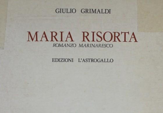 RETE ITALIANA DI CULTURA POPOLARE: ROMANZI MARINARESCHI