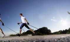 Nordic walking, primo corso per istruttori di primo livello