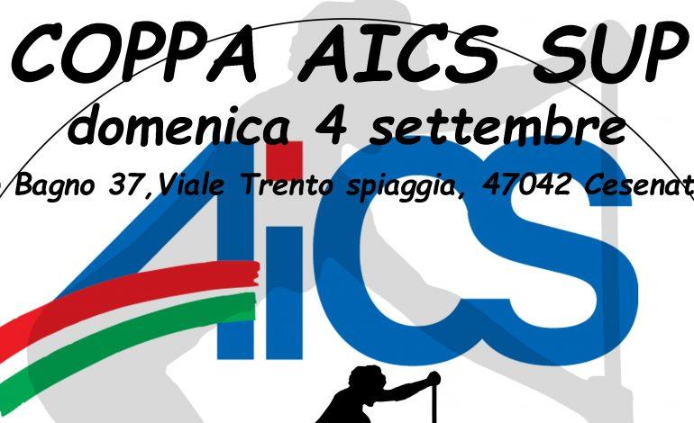 COPPA AICS SUP, MOLEA IL 4 SETTEMBRE A CESENATICO