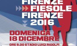 FIRENZE, APPUNTAMENTO DOMENICA 18 DICEMBRE CON LA FIRENZE-FIESOLE-FIRENZE