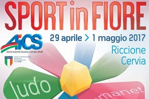 ESPLODE LA FESTA SPORTINFIORE, DAL 29 APRILE ALL'1 MAGGIO IN 3MILA SULLA RIVIERA ROMAGNOLA NEL NOME DI AICS