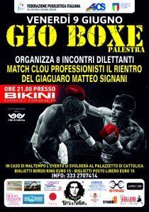 RIMINI, BOXE: INCONTRI DILETTANTI @ La palestra Gio Boxe | Rimini | Emilia-Romagna | Italia