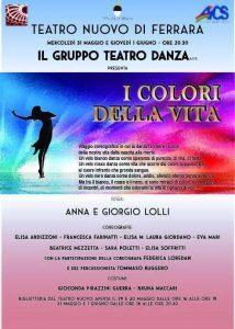 FERRARA, I COLORI DELLA VITA @ Teatro Nuovo | Ferrara | Emilia-Romagna | Italia