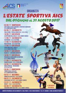 CALTANISSETTA, ESTATE SPORTIVA AICS DAL PRIMO GIUGNO AL 31 AGOSTO @ Caltanissetta | Caltanissetta | Sicilia | Italia