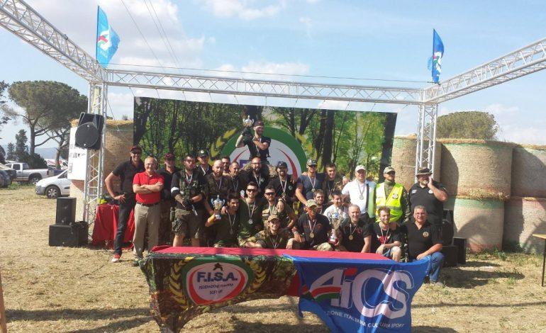 SOFT AIR, CAMPIONATO NAZIONALE AICS: ECCO I RISULTATI