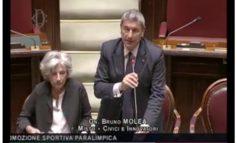 LIMITE AL RINNOVO DEI MANDATI DI VERTICE SPORTIVI, INTERVENTO ALLA CAMERA DEL PRESIDENTE MOLEA
