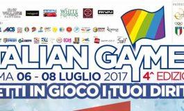 ITALIAN GAYMES, IN CAMPO CONTRO LE DISCRIMINAZIONI DA ORIENTAMENTO SESSUALE
