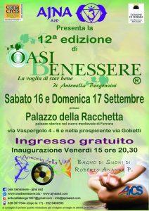 FERRARA, OASI BENESSERE 2017 - LA VOGLIA DI STAR BENE @ Ferrara | Ferrara | Emilia-Romagna | Italia