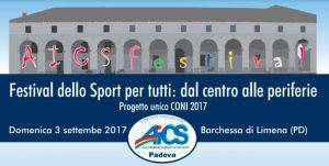 "PADOVA: ""AICSFESTIVAL"", CIRCOLI E LIMENANTIQUARIA INSIEME @ Padova | Padova | Veneto | Italia"
