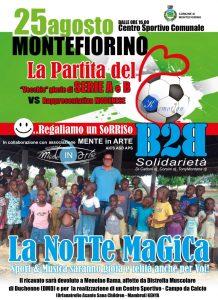 MONTEFIORINO, PARTITA DEL CUORE PER GLI ORFANI IN KENIA @ Montefiorino | Emilia-Romagna | Italia