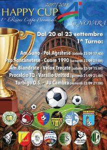 NOVARA, PRIMA EDIZIONE DELLA HAPPY CUP @ Novara | Novara | Piemonte | Italia