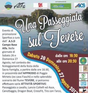 RIETI, PASSEGGIATA SUL TEVERE @ Rieti | Rieti | Lazio | Italia