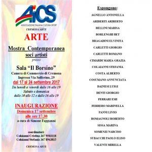 CREMONA, MOSTRA DEI SOCI ARTISTI @ Cremona | Cremona | Lombardia | Italia