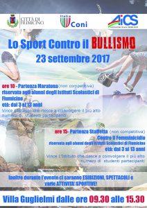 FIUMICINO, DI CORSA CONTRO IL BULLISMO @ Fiumicino | Fiumicino | Lazio | Italia