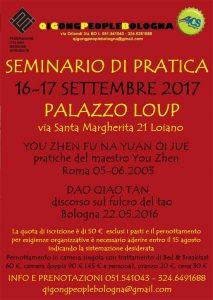 BOLOGNA, QI GONG PEOPLE: Seminario di Pratica @ Bologna | Bologna | Emilia-Romagna | Italia