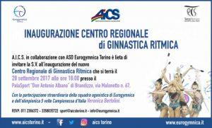 TORINO, NASCE IL CENTRO REGIONALE DI GINNASTICA RITMICA @ Torino | Piemonte | Italia
