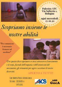 BOLOGNA, LABORATORIO INTEGRATO ABILI E DISABILI @ Bologna | Bologna | Emilia-Romagna | Italia