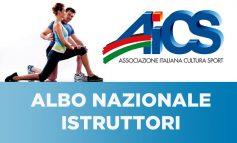 AICS, ARRIVA ON LINE L'ALBO NAZIONALE ISTRUTTORI
