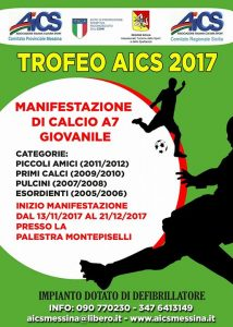 MESSINA, CALCIO: TROFEO AICS 2017 @ Messina | Messina | Sicilia | Italia