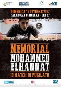 MODENA, BOXE: MEMORIAL ELHANNAT @ Modena | Modena | Emilia-Romagna | Italia