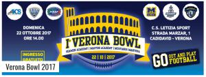 VERONA, FOOTBALL: 1° VERONA BOWL @ Verona | Verona | Veneto | Italia