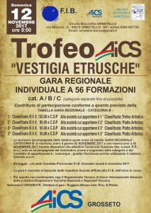 "GROSSETO, BOCCE: TROFEO AICS ""VESTIGIA ETRUSCHE"" @ Grosseto | Grosseto | Toscana | Italia"