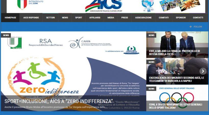 AICS.IT VOLA: NEL 2017 PIU' DI UN MILIONE DI VISITATORI