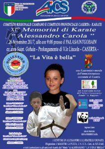CASERTA, XI° Memorial di Karate Alessandro Carola @ Caserta | Campania | Italia