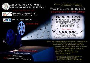 CREMONA, ALLA CONVIVIALE DI FINE 2017 ANCHE IL PRESIDENTE FICTS FRANCO ASCANI @ Cremona   Cremona   Lombardia   Italia