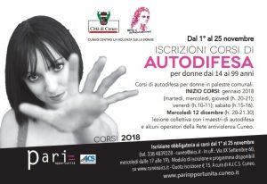 CUNEO, CORSO DI AUTODIFESA FEMMINILE @ Cuneo | Cuneo | Piemonte | Italia