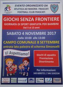 ROMA, GIOCHI SENZA FRONTIERE @ Roma | Roma | Lazio | Italia
