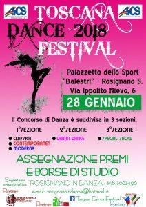 TOSCANA, CONCORSO DANCE FESTIVAL 2018 @ Toscana | Toscana | Italia