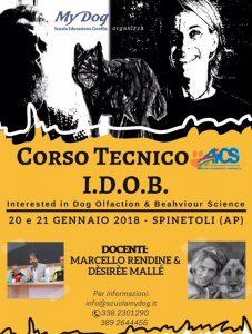 ASCOLI PICENO: CINOFILIA, CORSO TECNICO IDOB @ Ascoli Piceno | Ascoli Piceno | Marche | Italia