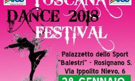 DANZA, CON AICS A GENNAIO IL TOSCANA DANCE FESTIVAL