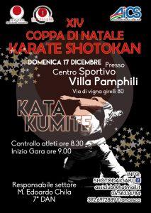 ROMA, XIV COPPA DI NATALE KARATE SHOTOKAN @ Roma | Roma | Lazio | Italia