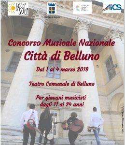 BELLUNO, CONCORSO MUSICALE CITTA' DI BELLUNO @ Belluno | Belluno | Veneto | Italia