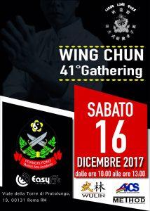 ROMA, ARTI MARZIALI: WING CHUN 41° GATHERING @ Roma | Roma | Lazio | Italia