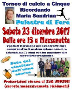 VICENZA, TORNEO DI CALCIO A 5 RICORDANDO MARIA SANDRINA @ Vicenza | Vicenza | Veneto | Italia