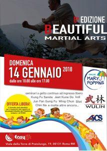 ROMA, 8° EDIZIONE BEAUTIFUL MARTIAL ARTS @ Roma