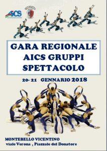 VICENZA, PATTINAGGIO: GARA REGIONALE AICS GRUPPI SPETTACOLO