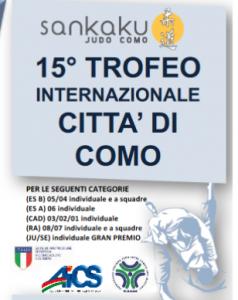 COMO, JUDO: 15ESIMO TROFEO INTERNAZIONALE CITTA' DI COMO