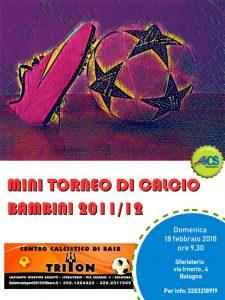 BOLOGNA, MINI TORNEO DI CALCIO BAMBINI @ Bologna | Bologna | Emilia-Romagna | Italia