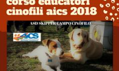 CINOFILIA, CORSO EDUCATORI CINOFILI AICS