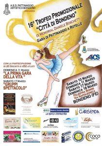 FERRARA, PATTINAGGIO: 16° TROFEO CITTA' DI BONDENO @ Ferrara | Ferrara | Emilia-Romagna | Italia