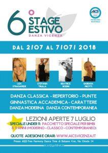 VICENZA, SESTO STAGE ESTIVO DI DANZA @ Vicenza | Vicenza | Veneto | Italia