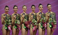 GINNASTICA, L'ATLETA AICS ANNA BASTA ORO CON LE FARFALLE AZZURRE ALLA WORLD CUP DI PESARO